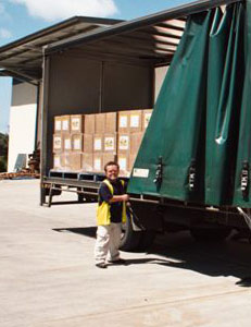 Pacific CoPack – warehouse and delivery services.
