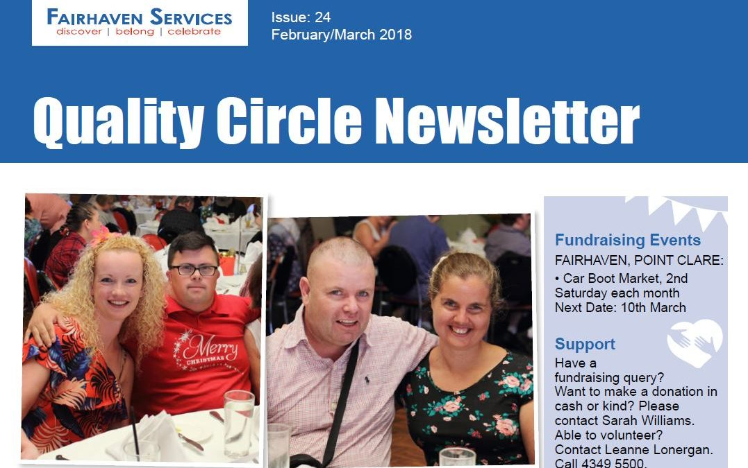 Quality Circle Newsletter – February 2018