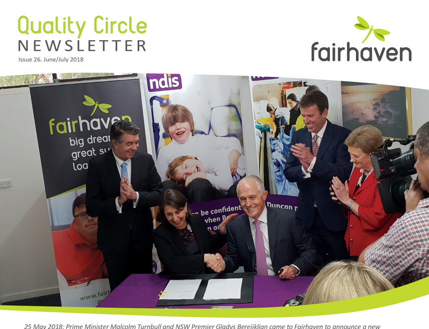 Quality Circle Newsletter – June 2018