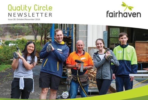 Quality Circle Newsletter – October / November 2018