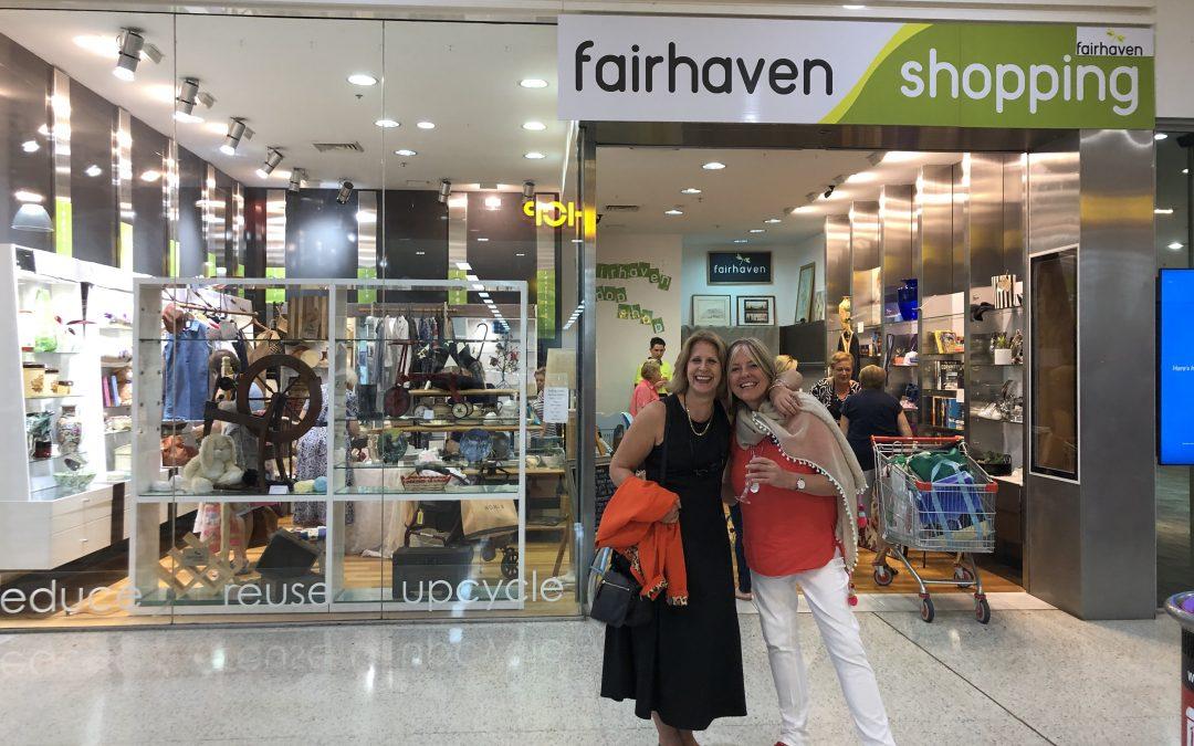 Fairhaven's Erina Fair Pop Up Shop.