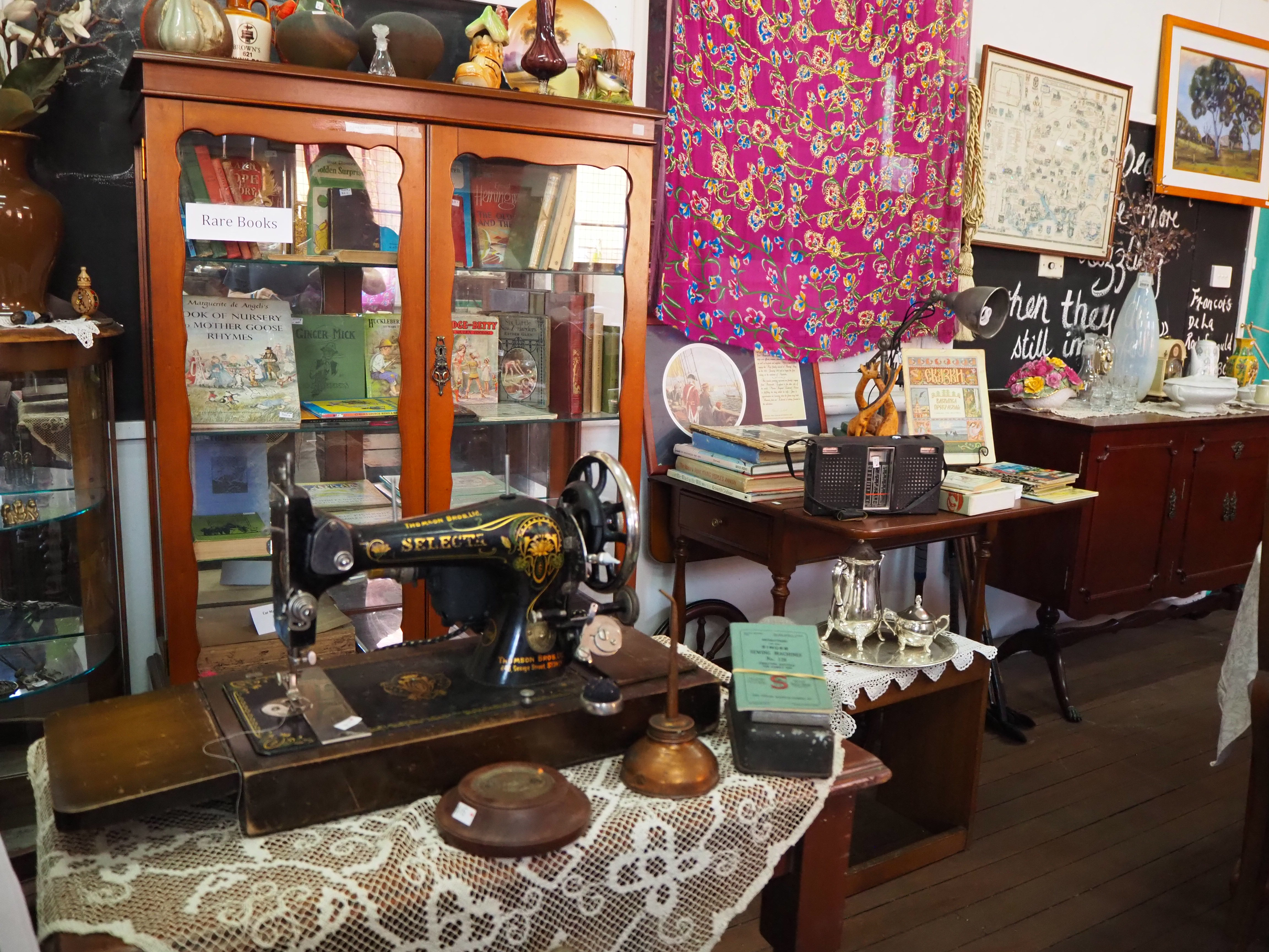 Vintage Fair upcycle space